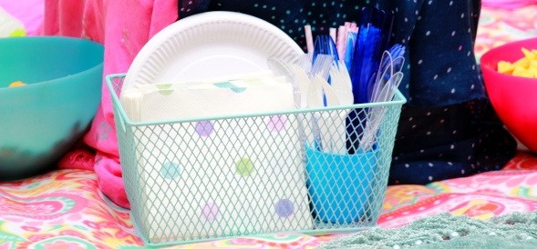 PomPom Pom Pom Tissue Paper Hobbycraft BBQ Summer Decor Decorations Picnic Party Garden Spring Bright Colourful ThatEmily That Emily Blog Blogger