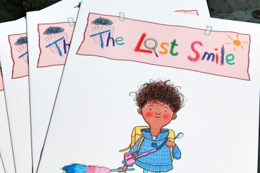 The Lost Smile Wrigleys Extra Teeth Tooth Dental Care Charity GiveAway Competition Book Novel Fiction Picture Photo Children Child Toddler Youth Education